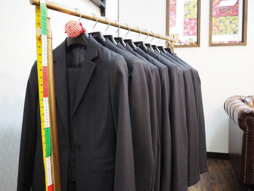 安心の試着スーツ