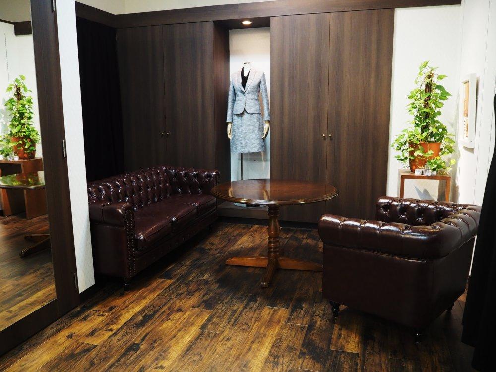 安心の個室空間採寸
